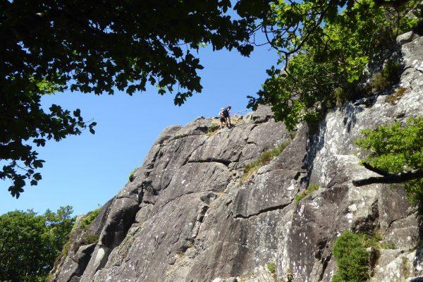 Rock Climbing - Tremadog Upper Tier